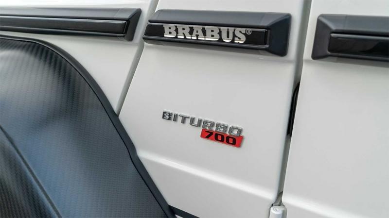Brabus 700 4×4² Final Edition 2019 – ограниченная серия эксклюзивного Гелендваген