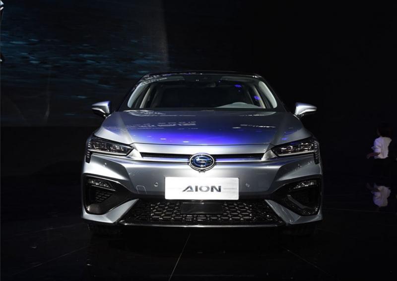 GAC Aion S 2019 – новый электрический седан бренда GAC
