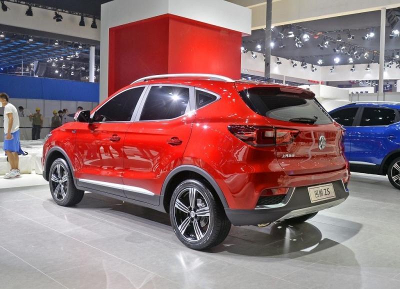 Китайский MG ZS 2017 – конкурент для Nissan Juke?
