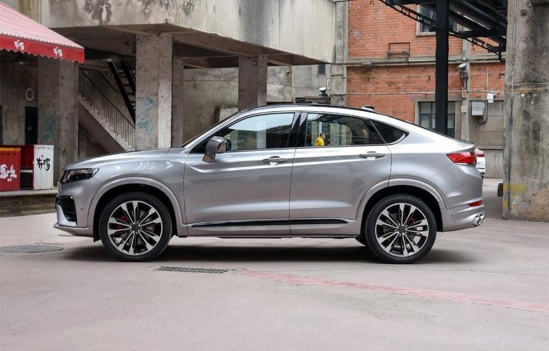 Geely Xingyue 2019 – конкурент BMW X4 из Китая