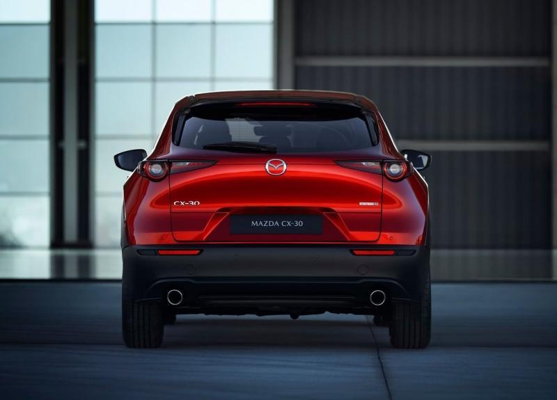 Mazda CX-30 2020 – брат-кроссовер новой Mazda 3