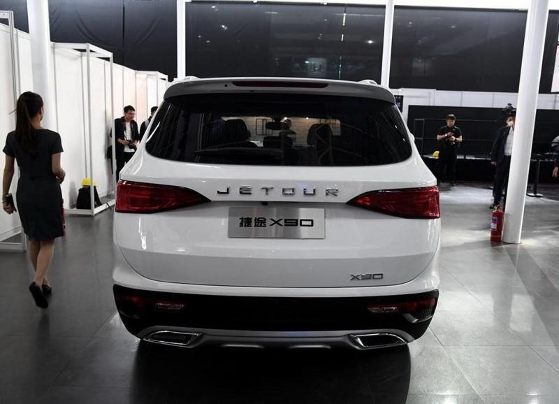 Jetour X90 2019 – новый кроссовер марки Jetour