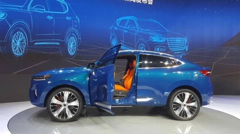 Haval F7x 2019 – новый купе образный кроссовер Хавал Ф7Х