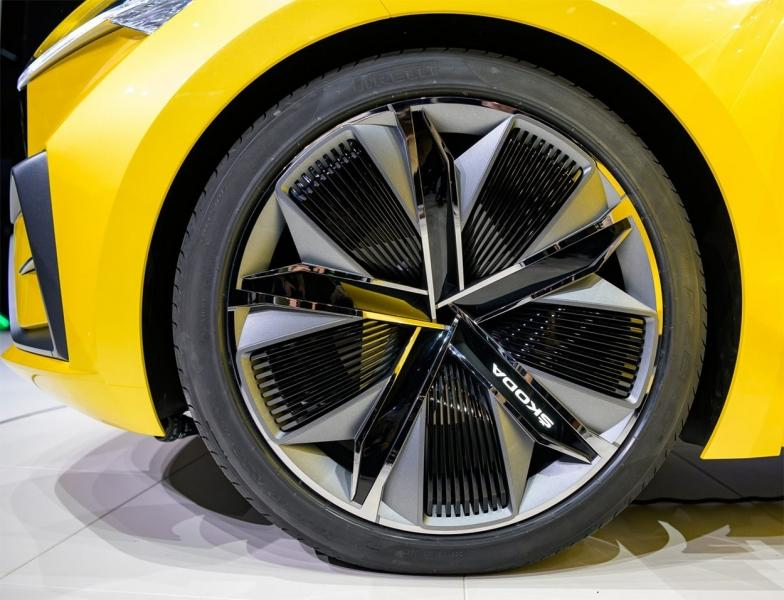 Skoda Vision iV Concept 2019 – очередной прототип электрического кроссовера Шкода