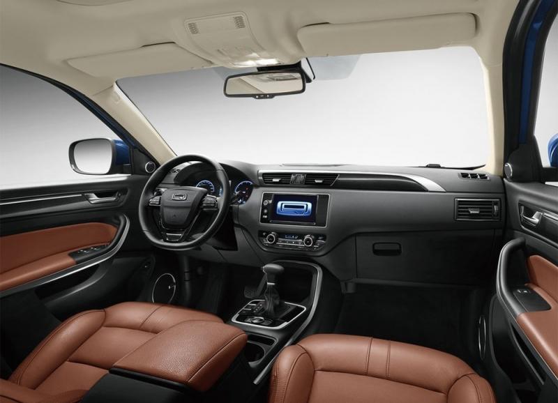 Qoros 5 SUV 2016 — кроссовер с номером «5»