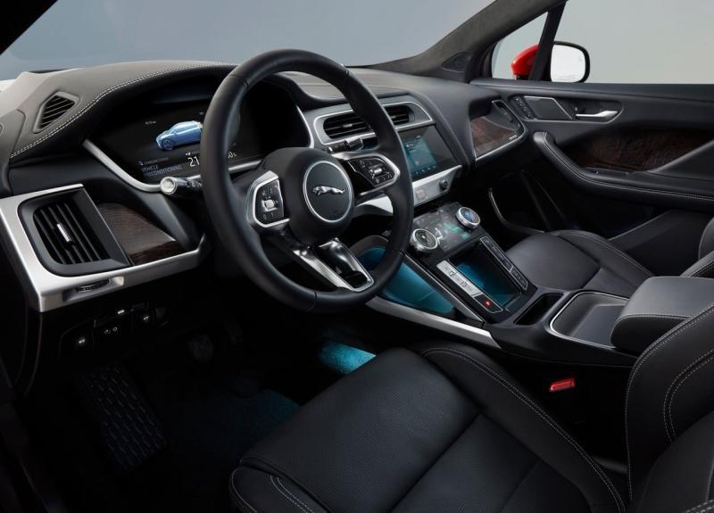 Jaguar I-Pace 2019 – электрический первенец бренда Ягуар
