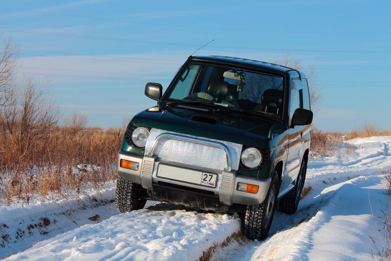Стабилизация автомобиля в зимней колее