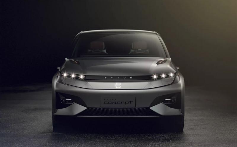 Byton Crossover Concept 2018 – электрический первенец новоиспеченного бренда Byton