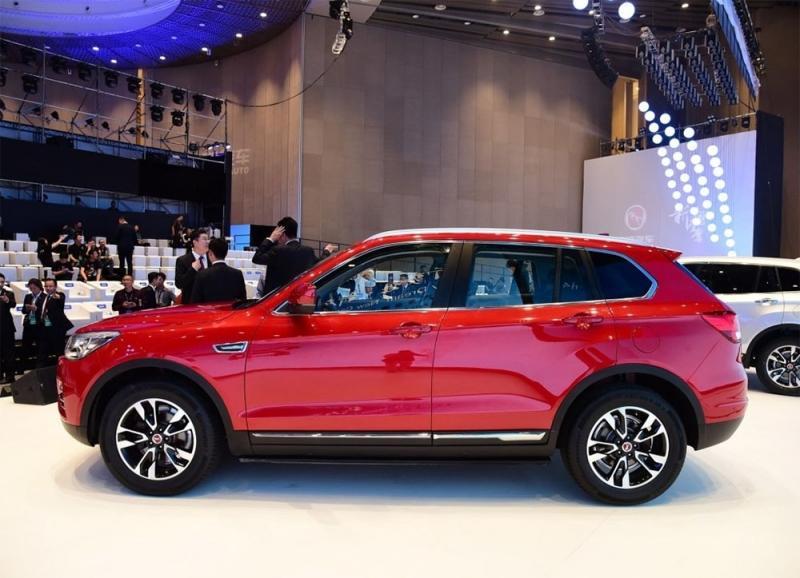 Кроссовер Hanteng X7 – по мотивам Volkswagen и BMW