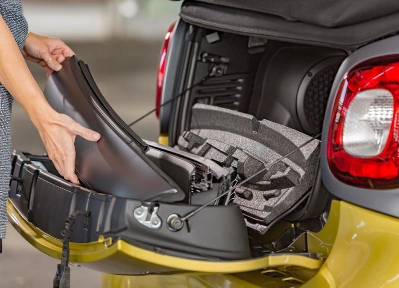New Smart ForTwo Cabrio 2016 – новое поколение мини-кабриолета