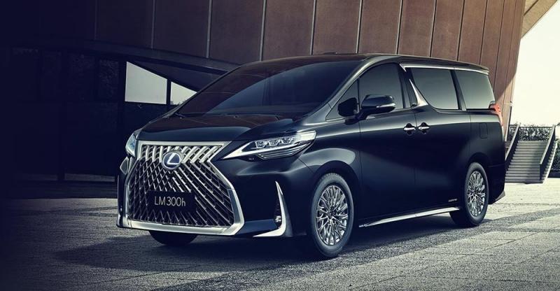 Lexus LM 2019 – первый минивэн в истории Лексус