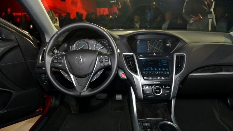 Acura TLX 2018 – высокотехнологичный бизнес-седан