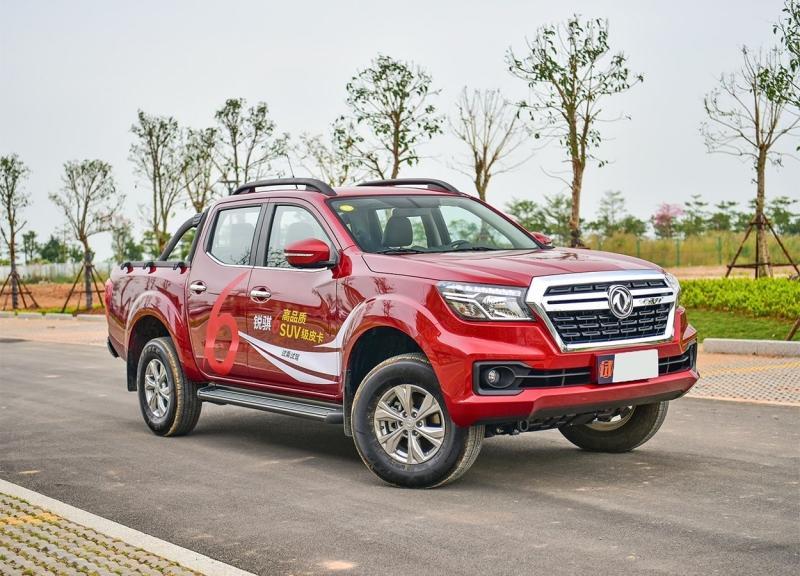 Dongfeng Ruijing 6 2018 – новый китайский пикап, официальный брат Nissan Navara