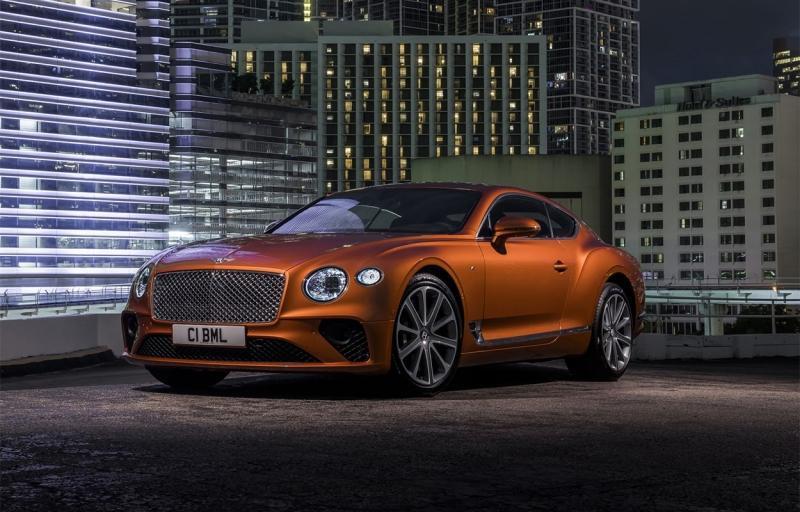 Bentley Continental GT V8 2020 – Бентли Континенталь ГТ с мотором от Porsche Panamera Turbo