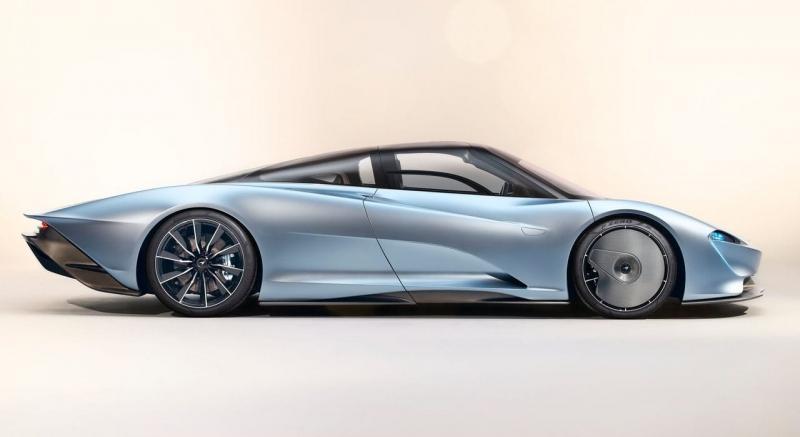 McLaren Speedtail 2020 – трехместный гиперкар Макларен