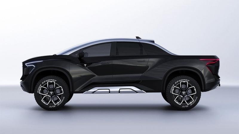 Tesla Model P 2021 – новый Тесла пикап
