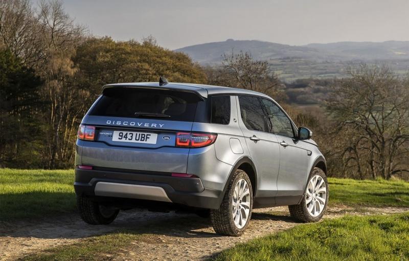 Land Rover Discovery Sport 2020 в новом кузове