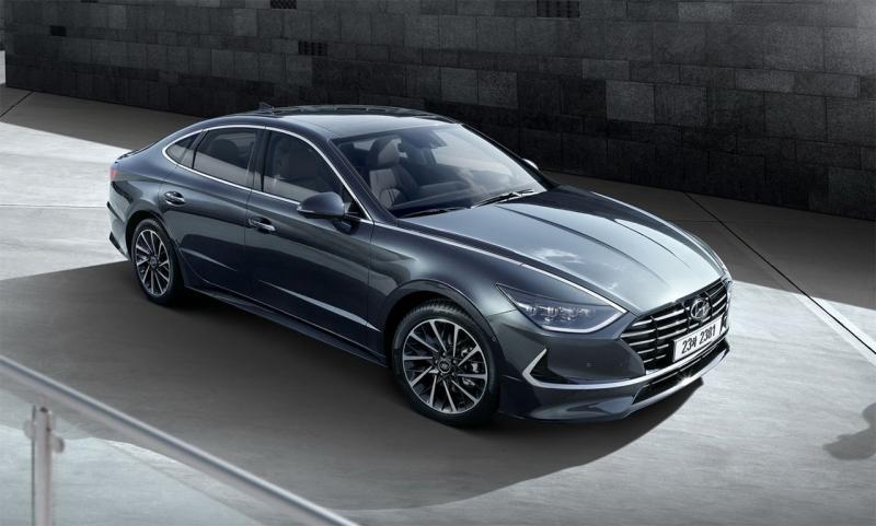 Hyundai Sonata 2020 – седан Хендай Соната 8 поколения