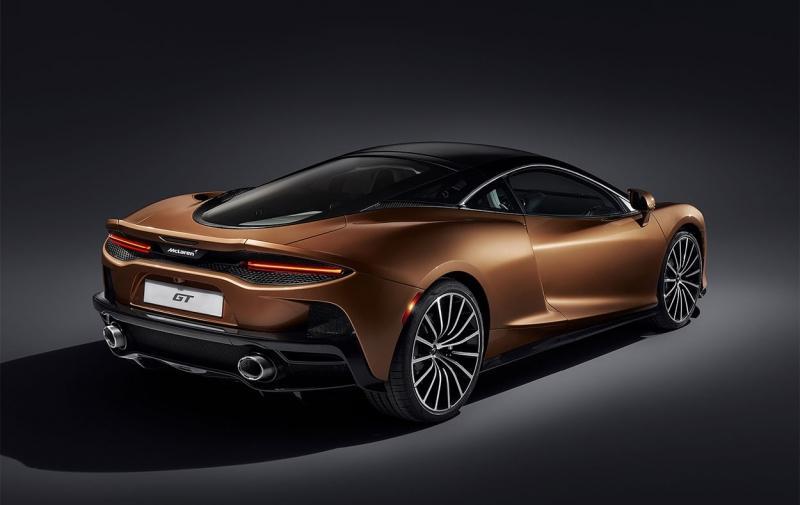 McLaren GT 2019 – самый комфортный Макларен