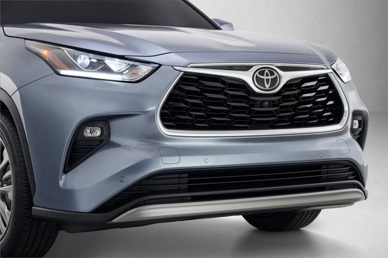 Toyota Highlander 2019-2020 – Тойота Хайлендер в новом кузове