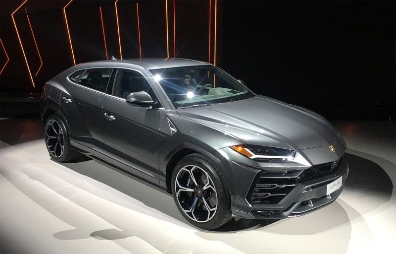 Lamborghini Urus 2018 – итальянский кроссовер-рекордсмен