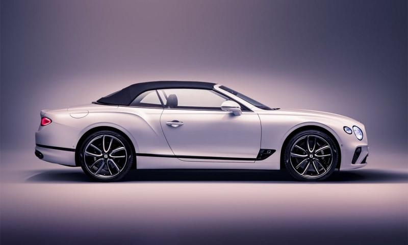 Bentley Continental GT Convertible 2019 – кабриолет Бентли Континенталь ГТ 3 поколения