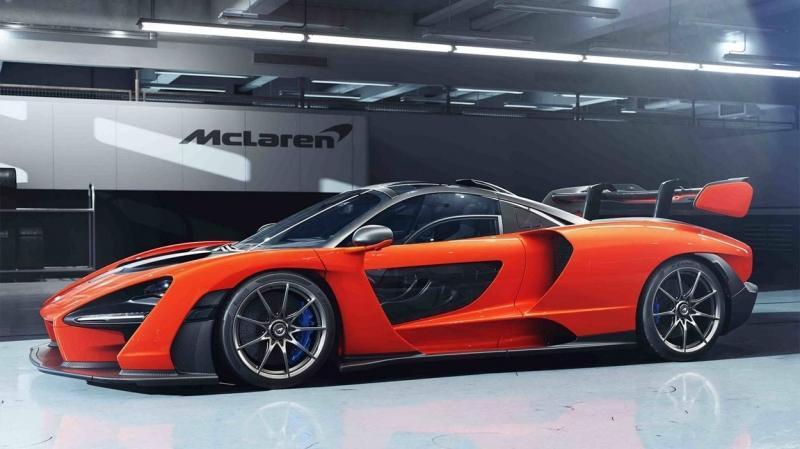 McLaren Senna 2018 – гипер-кар с духом Айртона Сенны