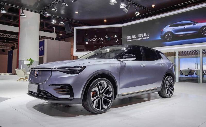 Enovate ME7 2019 – новый китайский электрический кроссовер