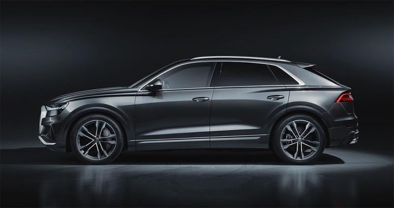 Audi SQ8 2019 – флагманский Ауди Ку8 с супер дизелем