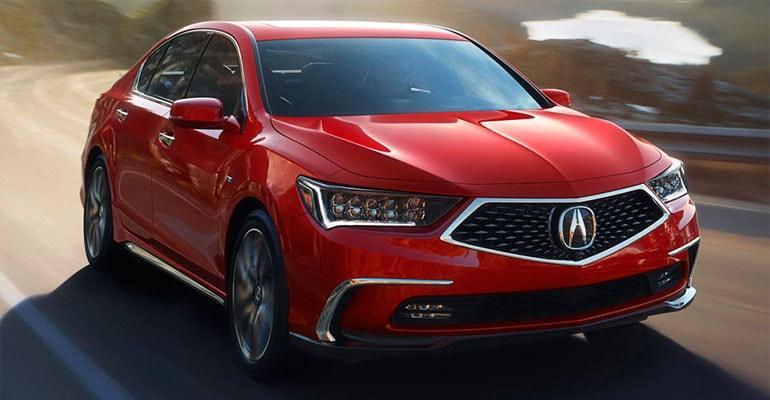 Acura RLX 2018 – обновленый флагман Акура