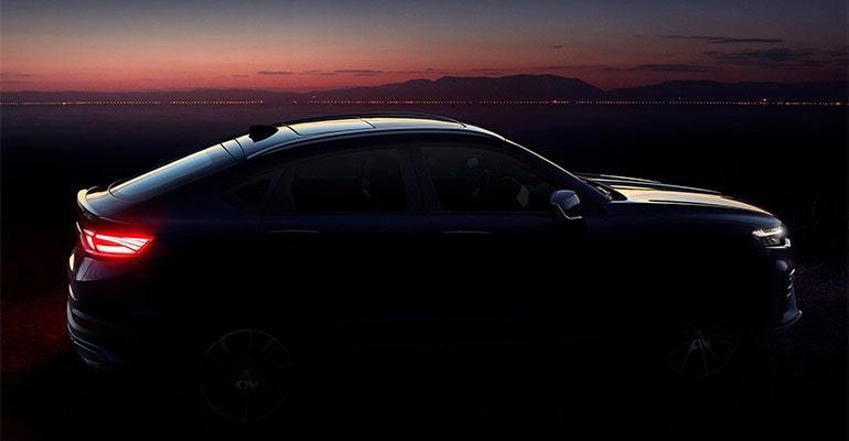 Geely FY11 2019 – новый купе образный кроссовер Джили