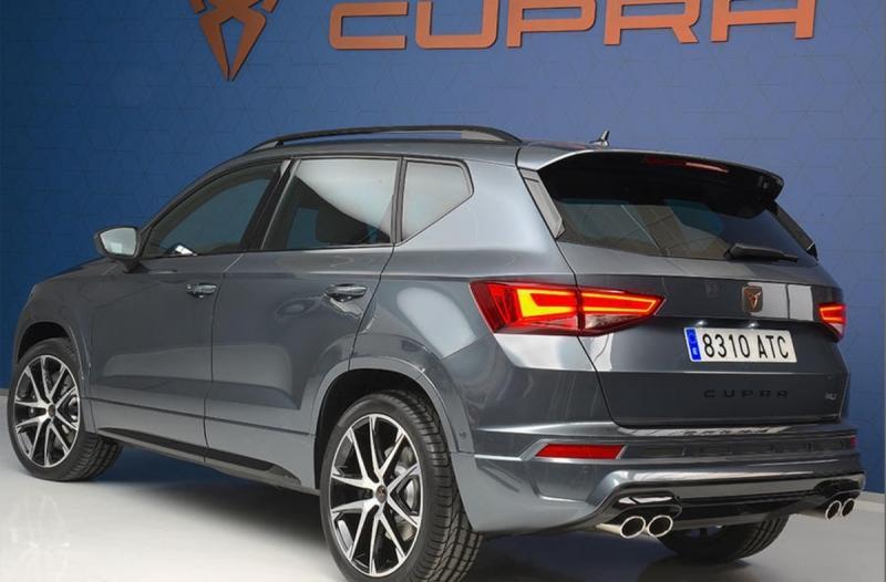 Cupra Ateca 2018 – первенец новоиспеченного бренда Cupra