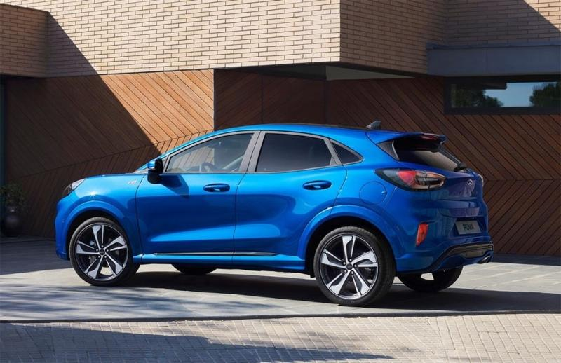 Ford Puma – авто новинка Форд 2019 года