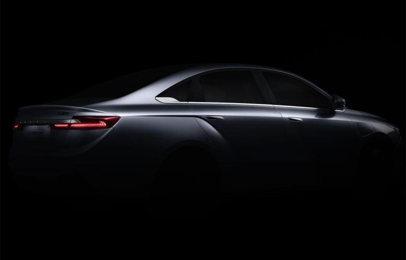 Geely GE11 2019 – китайский конкурент для Tesla Model 3