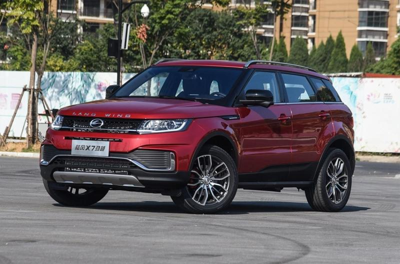 Landwind X7 2018 – обновление клона Range Rover Evoque