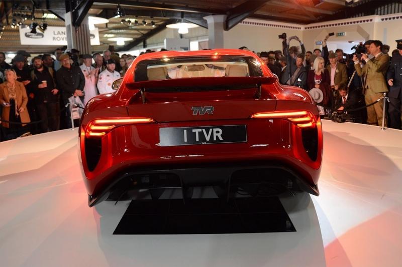 TVR Griffith 2018 – возрожденный британский спорт-кар