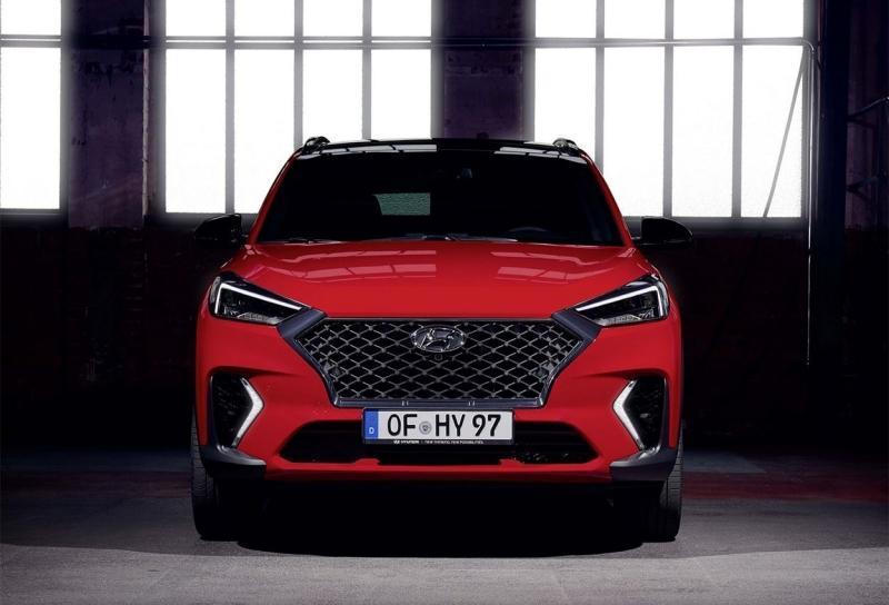 Hyundai Tucson N Line 2020 – Хендай Туссан стал спортивнее с пакетом Н лайн
