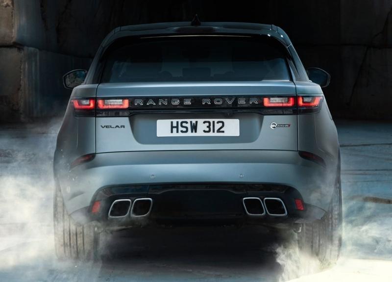 Range Rover Velar SVAutobiography 2019 – Рендж Ровер Велар с 550-сильным V8