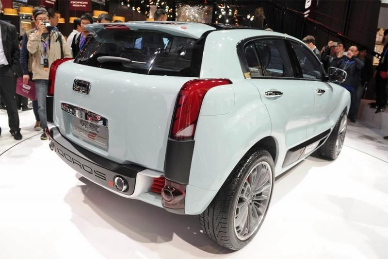 Qoros 2 SUV PHEV Concept — прототип гибридного кроссовера