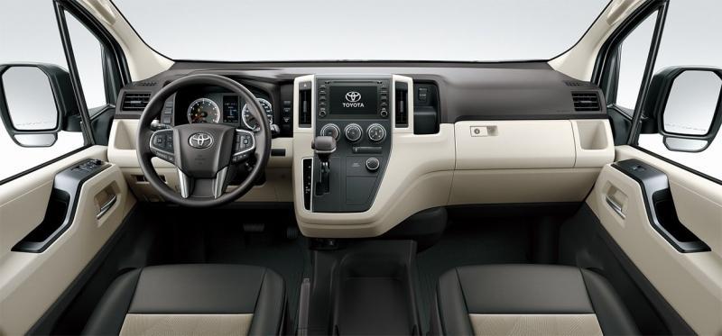 Toyota Hiace 2019 – Тойота Хайс 6 поколения