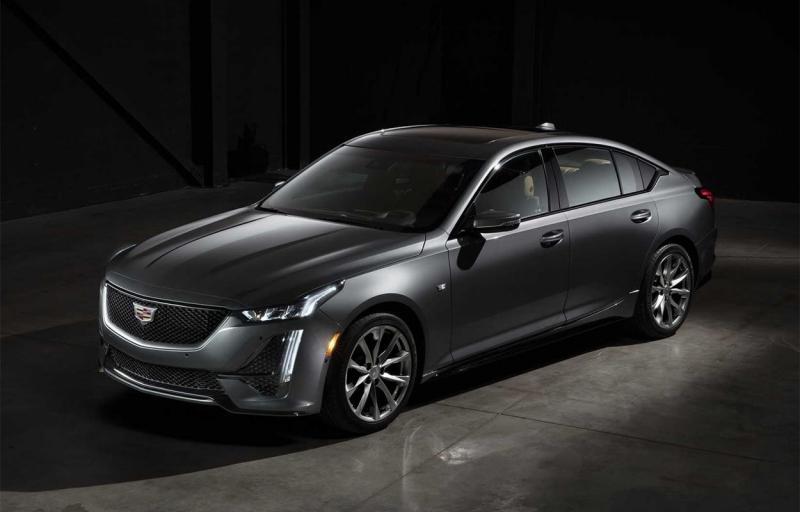 Cadillac CT5 2020 – новый спортивный седан Кадиллак СТ5