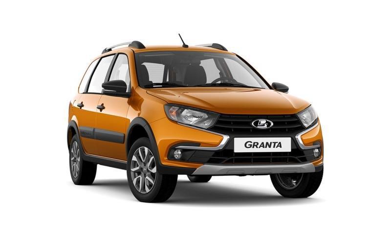 Lada Granta Cross 2019 – приподнятый универсал Лада Гранта Кросс