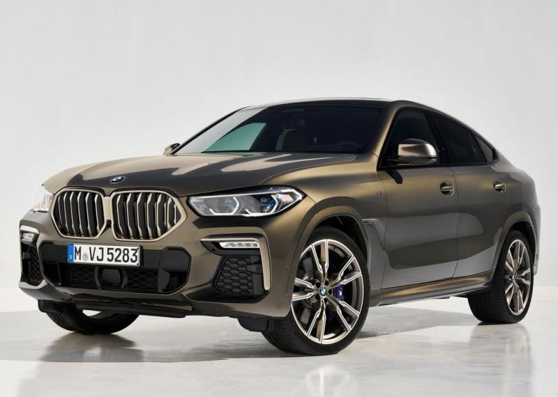 BMW X6 G06 2019 – «икс шестой» 3-го поколения