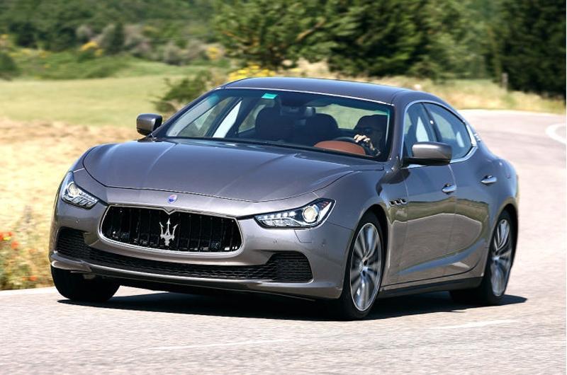Maserati Ghibli 2013 — новый спортивный итальянский седан