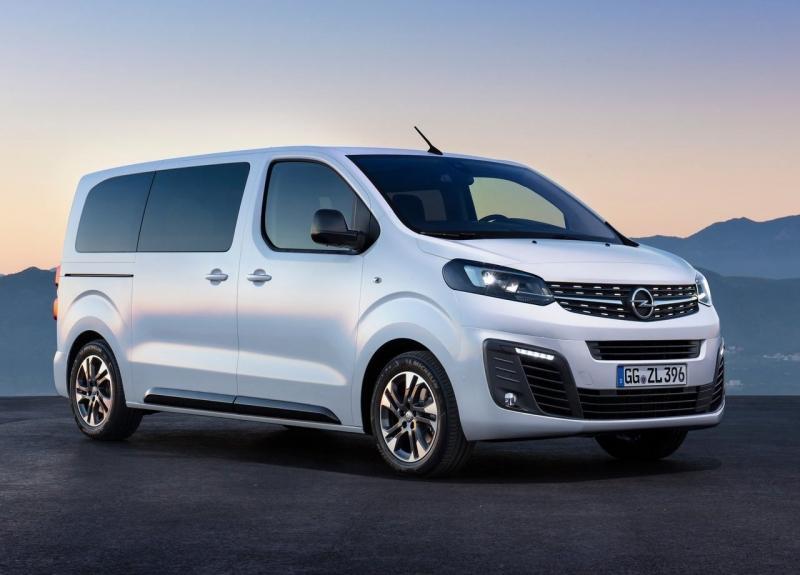 Opel Zafira Life 2019 – новый минивэн Опель Зафира Лайф скоро в России