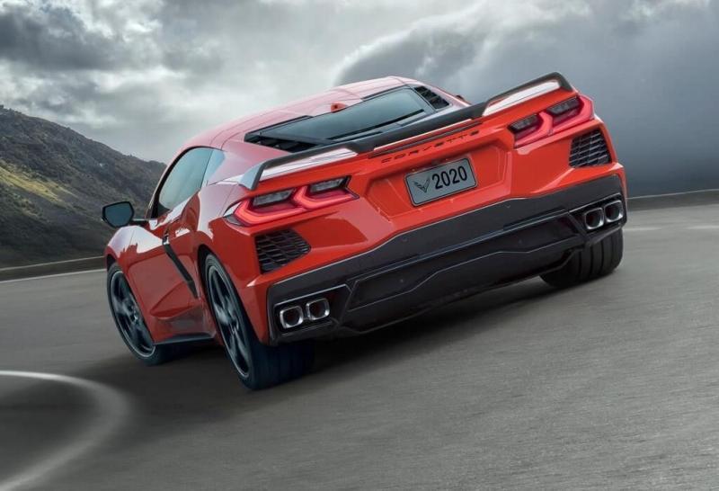 Chevrolet Corvette C8 Stingray 2020 – новый Корвет стал центрально-моторным