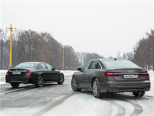 Сравнительный тест Audi A6, Mercedes-Benz E-Class AMG - Когда «бюргеры» дерутся: Audi A6 против Mercedes-Benz E-Class