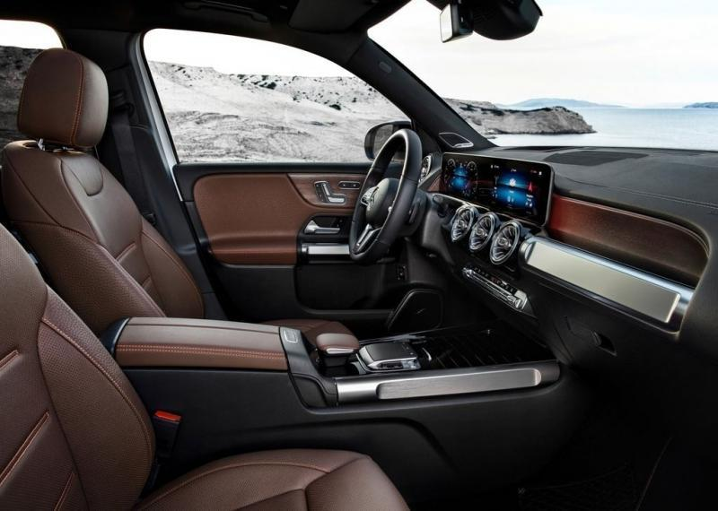 Новый кроссовер Mercedes GLB 2020