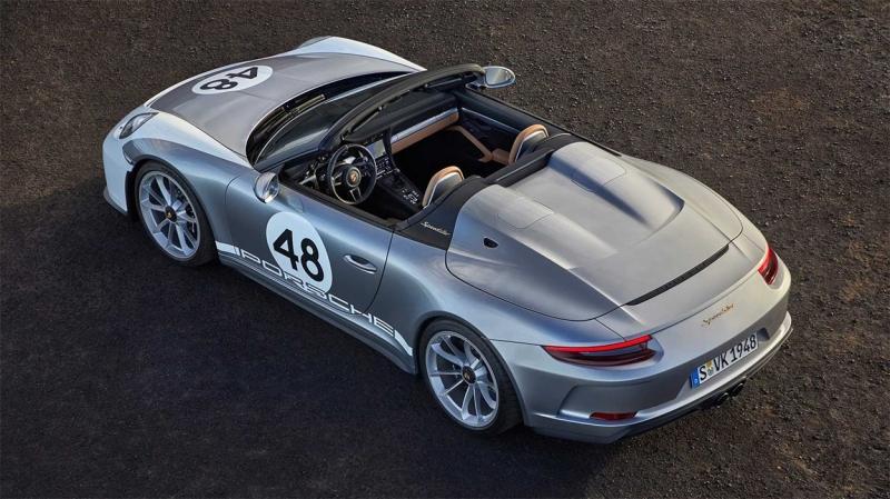 Porsche 911 Speedster 2019 – эксклюзивный родстер Порше 911 Спидстер