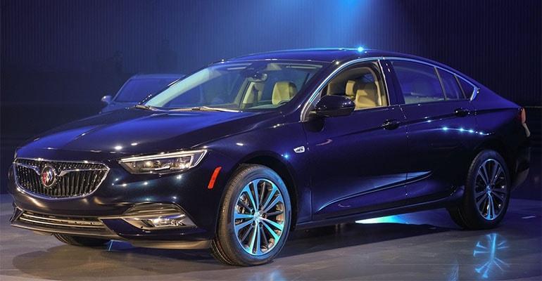 Buick Regal 2018 – к премьере в Нью-Йорке готов